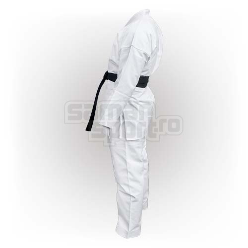 Kimono Karate, Saman, Elite kimono karate, fara centura, alb, 150 méret