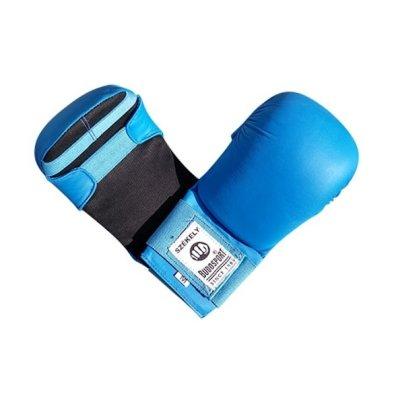 Manusi karate, Saman Eco, piele ecologica, albastru