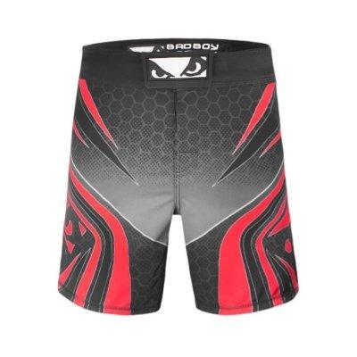 Pantaloni MMA, BADBOY LEGACY EVOLVE, negru-rosu