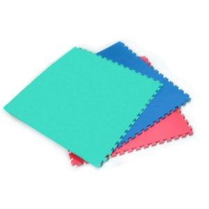 Tatami, o culoare, albastru, 1m*1m*2cm mărimea