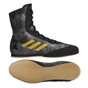Pantofi de box, Adidas BOX HOG PLUS, negru/auriu, 42 2/3 mărimea
