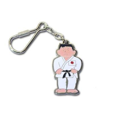 Breloc, judo baiat, din metal