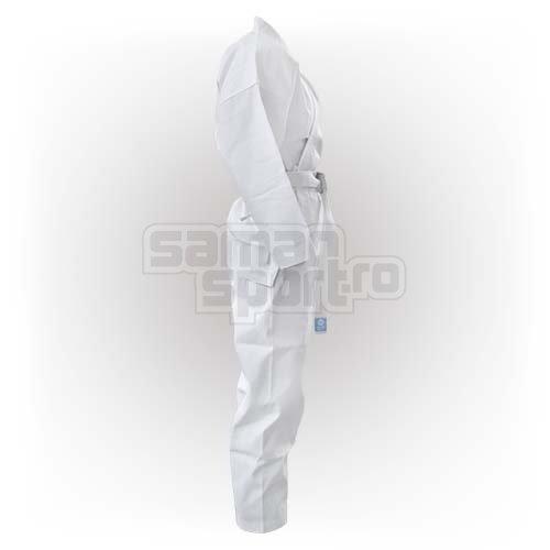 Karate ruha, Saman, Little Saman, cu centura, alb, bumbac/poliester