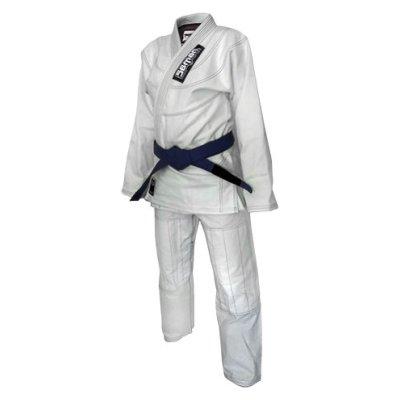Kimono Ju-Jitsu SAMAN KID, alb