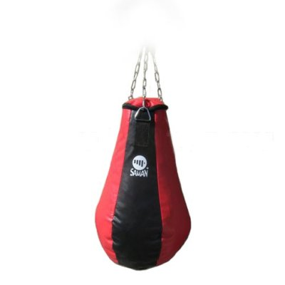 Sac de box Saman, model para, mic, umplut