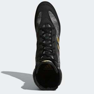 Pantofi de box, Adidas BOX HOG PLUS, negru/auriu, 42 2/3 méret
