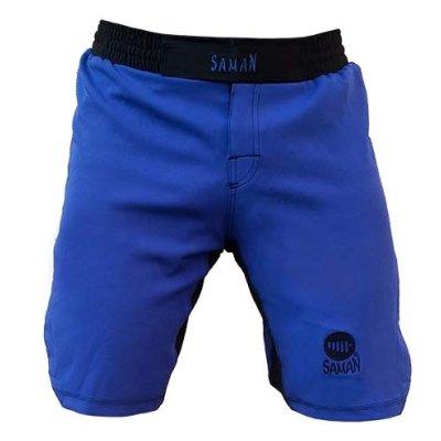 Pantaloni MMA de la Saman, Adamant, albastri