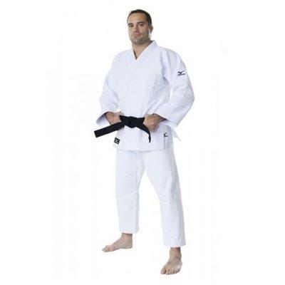 Kimono Judo, Mizuno, Shiai, alb