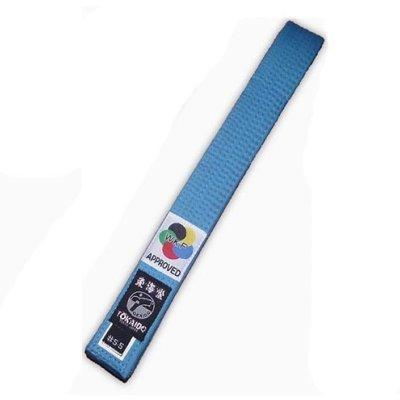 Centura Karate, Tokaido, WKF, albastru