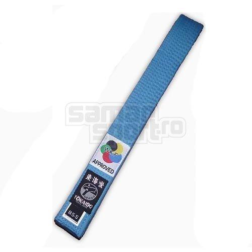 Centura Karate, Tokaido, WKF, albastru, 265 cm (3,5) méret