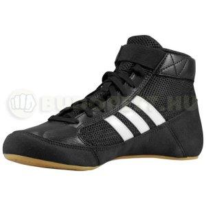 Pantofi de lupte, Adidas HVC K, pentru copii, negru