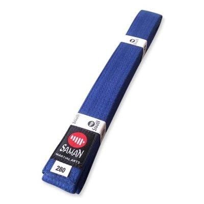 Centura Saman albastra, bumbac