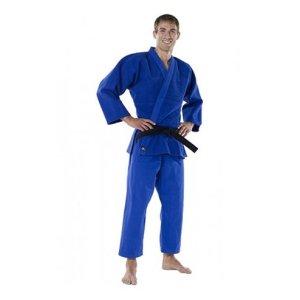 Kimono Judo, Mizuno, Shiai, albastru, 150 cm (1.0) méret