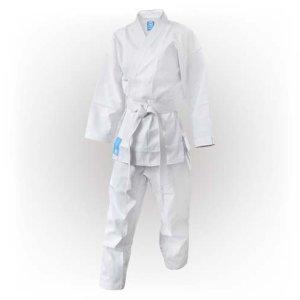 Karate ruha, Saman, Little Saman, cu centura, alb, bumbac/poliester, 200 mărimea