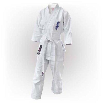 Kimono Kyokushin, Saman, Basic, alb
