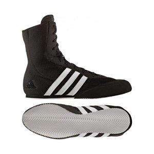 Pantofi de box, Adidas BOX HOG 2, negru/alb