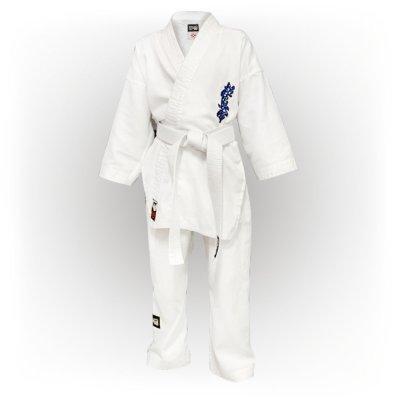 Kimono Kyokushin, Saman, Light, alb