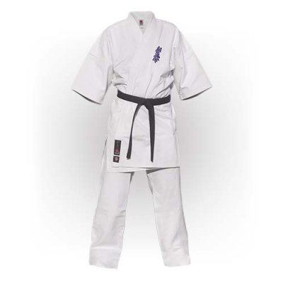 Kimono Kyokushin, Saman, Elite, alb